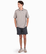 Grayton Heather Polo - Alloy