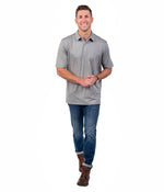Grayton Heather Polo - Sage