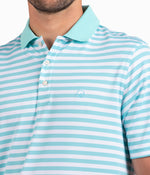 New Folly Pique Polo - Chalky Mint