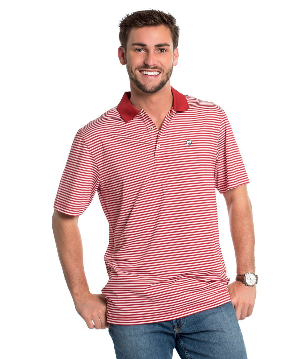 Youth Peabody Stripe Polo