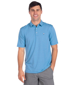 Perdido Stripe Polo - Spinnaker