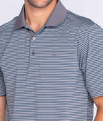 Rutledge Stripe Polo SS - Summit