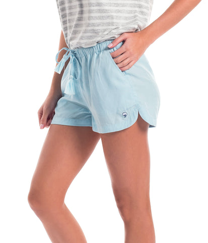 Southern Shirt Shorts Crystal Blue / XS Cassie Shorts