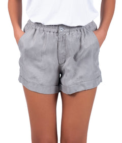 Cupro Shorts - Griffin