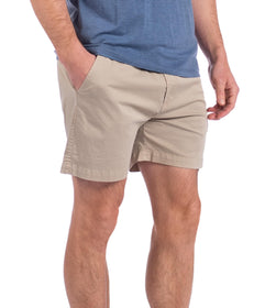 Garment Washed Harbor Shorts - Pelican