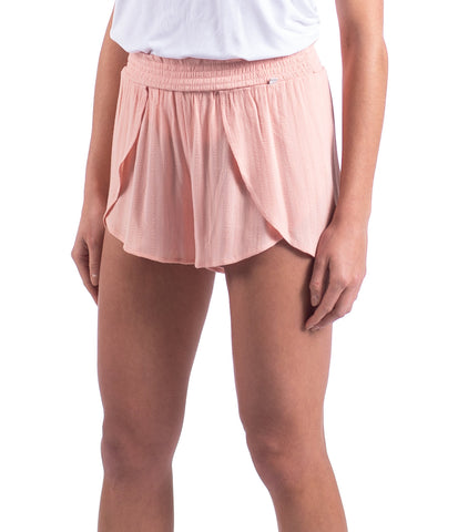 Tulum Tulip Shorts - Coral Cloud