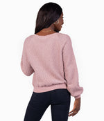Bonfire Sweater - Pink Shadow