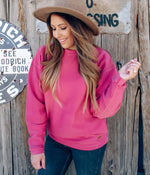 Corduroy Sweatshirt - Antique Rose