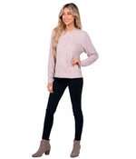 Dreamluxe Sweater - Mauve Shadows