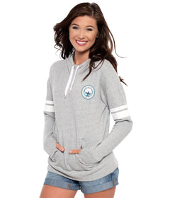 French Terry Hoodie - Heather Gray