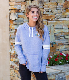 French Terry Hoodie - Periwinkle
