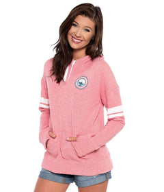 French Terry Hoodie - Rapture Rose