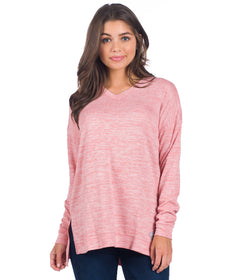 Jackie Pullover - Winter Rose