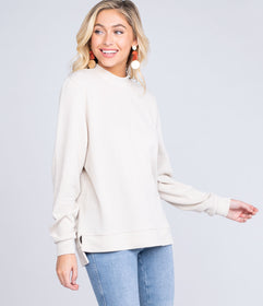 Warm and Cozy Sweater - Oatmeal