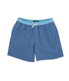 Blue Hawaiian Swim Shorts - Blue Hawaiian