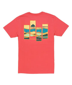 Abstract Waves SS - Spiced Coral