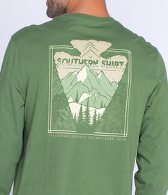 Arrow Peak LS - Vineyard Green