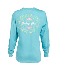 Autumn Bloom LS - Maui Blue