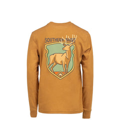 Boys Buck Fever LS - Inca Gold
