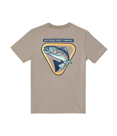 Boys Trout Badge SS - Rhino