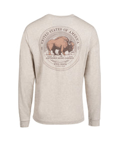 Buffalo Nickel LS - Oatmeal
