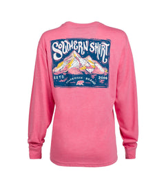 Chalky Mountains LS - Cherry Blossom