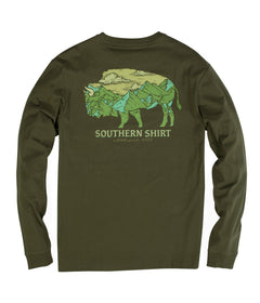 Mountain Buffalo LS - Cypress