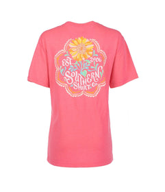 Sun-Kissed Flower SS - Pink Lemonade