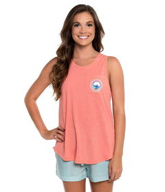 Heather Katy Tank - Living Coral