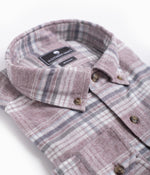 Bennett Heather Flannel LS - Clay