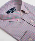 Graymont Gingham - Island Coral