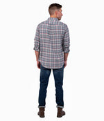 Kirkwood Heather Flannel LS - Gray Ridge