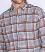 Stockton Plaid Flannel LS - Steel City