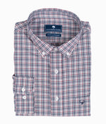 Tanner Plaid LS - Colonial Blue