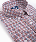 Tanner Plaid LS - Red Oak