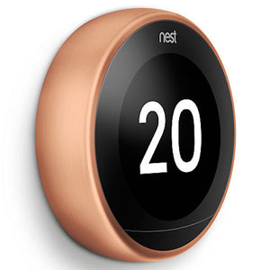 Nest Smart Thermostat 3rd Generation - Copper