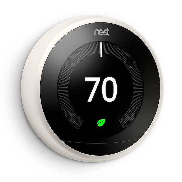 Nest Smart Thermostat 3rd Generation - White