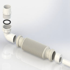 Polypipe MVHR Condensation Drain Kit