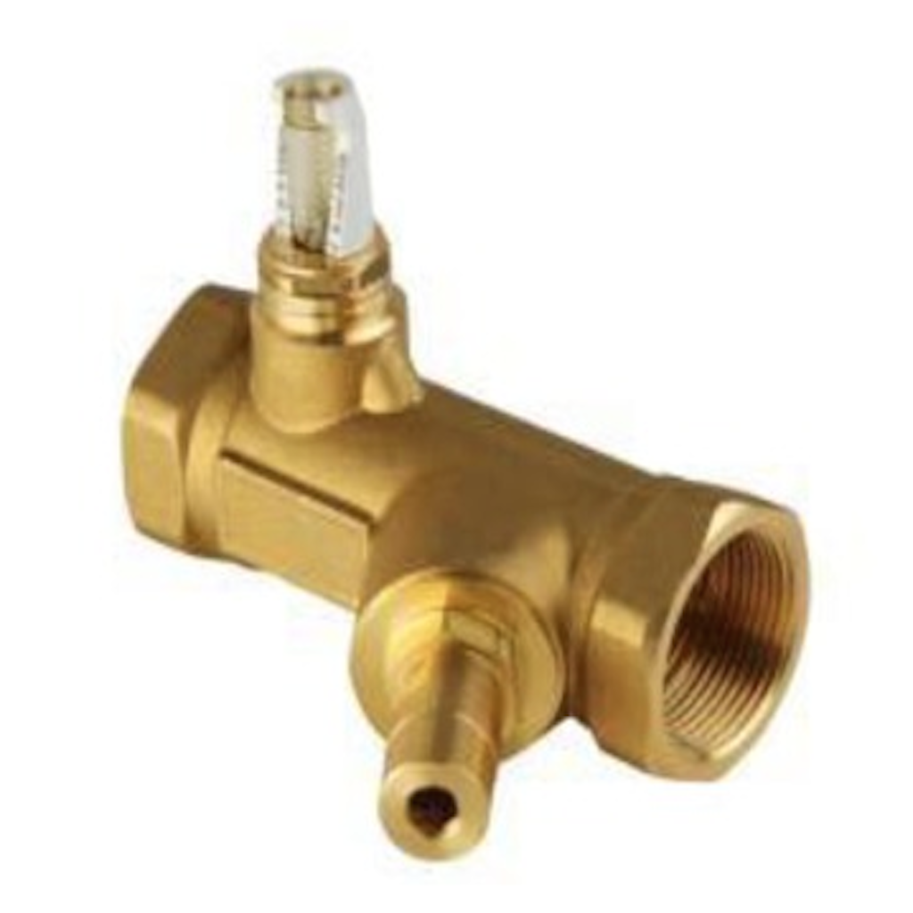 Solar flow regulations valve