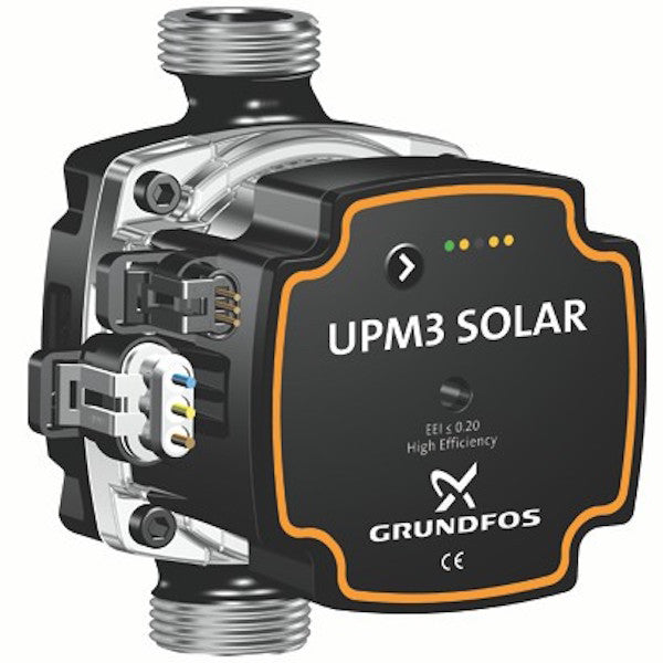 Replacement Solar Pump Grundfos UPM3 Solar