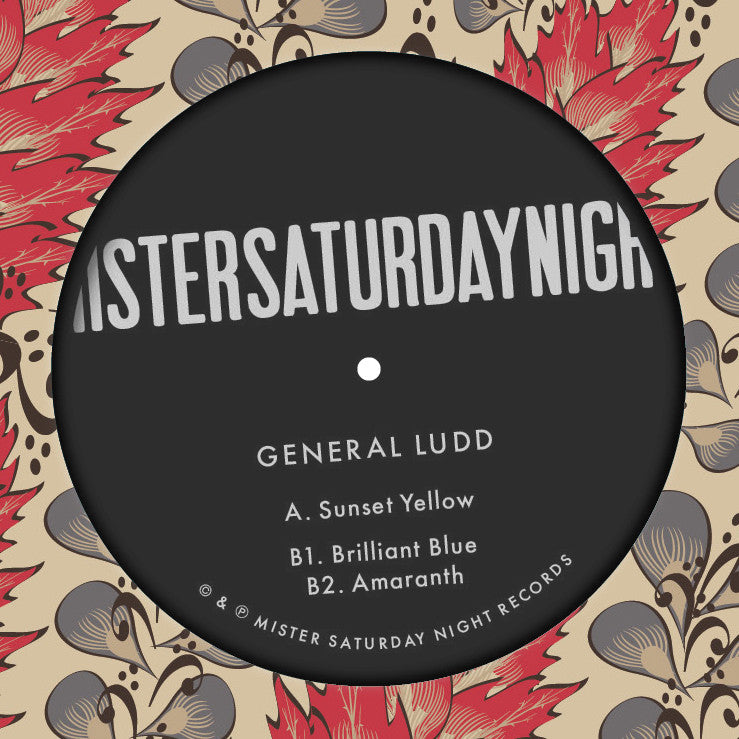 Sunset Yellow EP - General Ludd