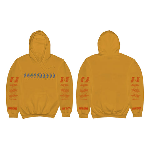 Mister Sunday Hoodie - Gold