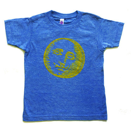 Mister Saturday Night Kids Tee - Heather Blues