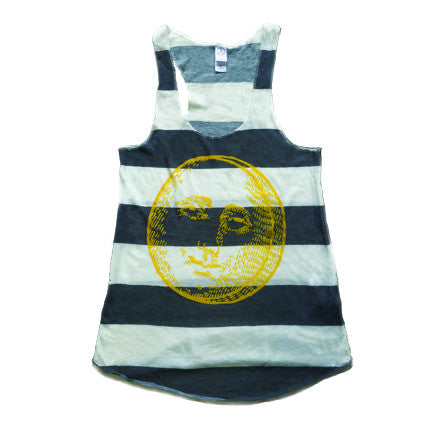 Mister Saturday Night Womens Tank - Stripes