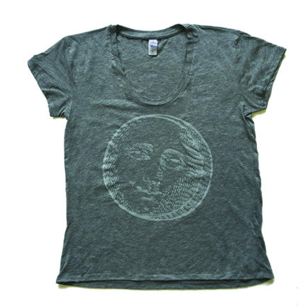Mister Saturday Night Womens Tee - Heather Grey