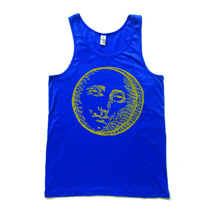 Mister Saturday Night  Mens Tank - Blue