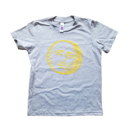 Mister Saturday Night Kids Tee - Heather Grey