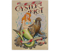2012 Oyster Riot Poster