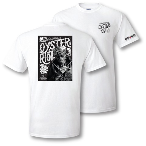 2015 Oyster Riot White T-Shirt