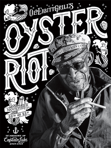 2015 Oyster Riot Poster